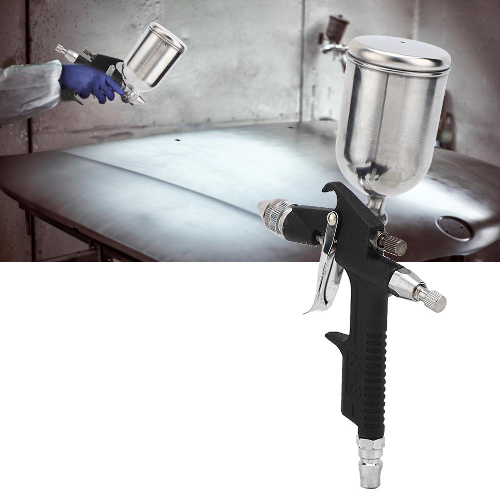 Pneumatic Paint Sprayer 0.5mm Upper Pot Caliber High Atomization Sprayer Tool for Automotive Industrial Shipping Wood Work thumbnail