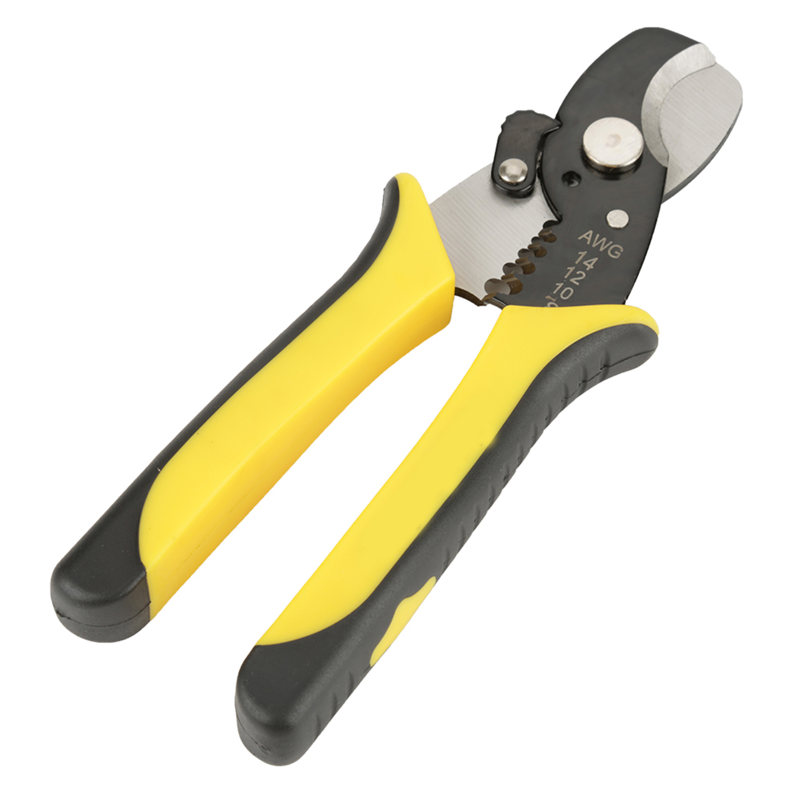 2 in 1 Cable Cutting Wire Stripper Pliers Electrical Tool for Electrician RT-6065 thumbnail