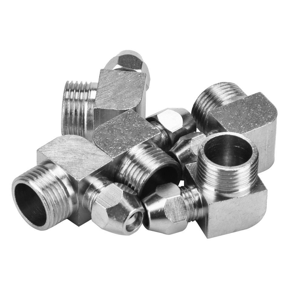 5pcs 90 Degrees Male Thread Air Hose Quick Adapter Connector Joint Coupler 6 8 10mm thumbnail