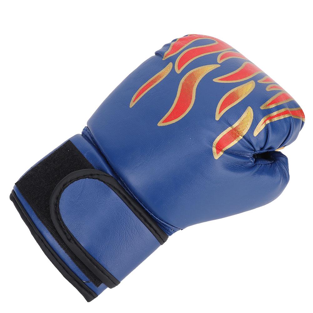1 Pair Kids Children PU Kick Boxing Gloves Karate Muay Guantes Sanda Equipment❤G