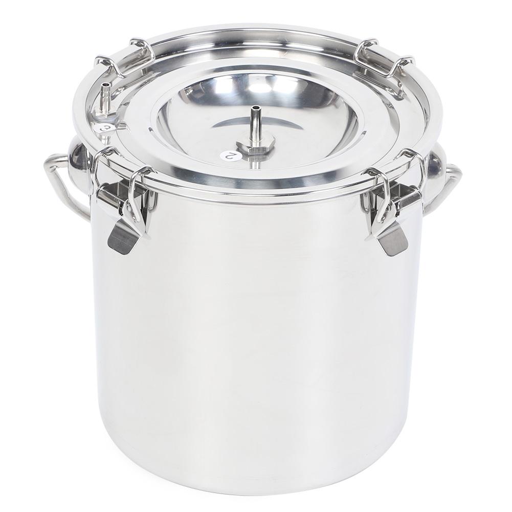 5L Elektrisch Melkmaschine Milker Melkeimer Vakuumpumpe Melken für Kühe Ziegen