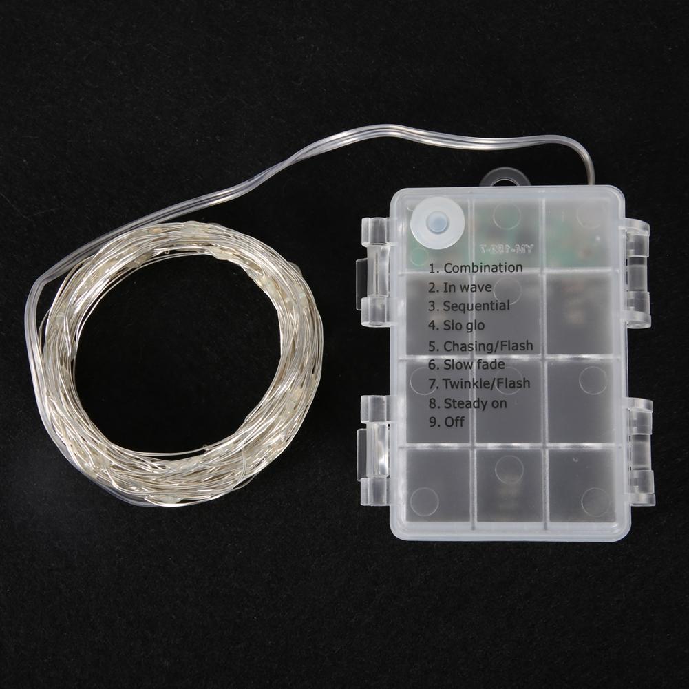 3M//5M//6M//10M LED Kupferdraht Lichterkette Weihnachten Beleuchtung Fernbedienung