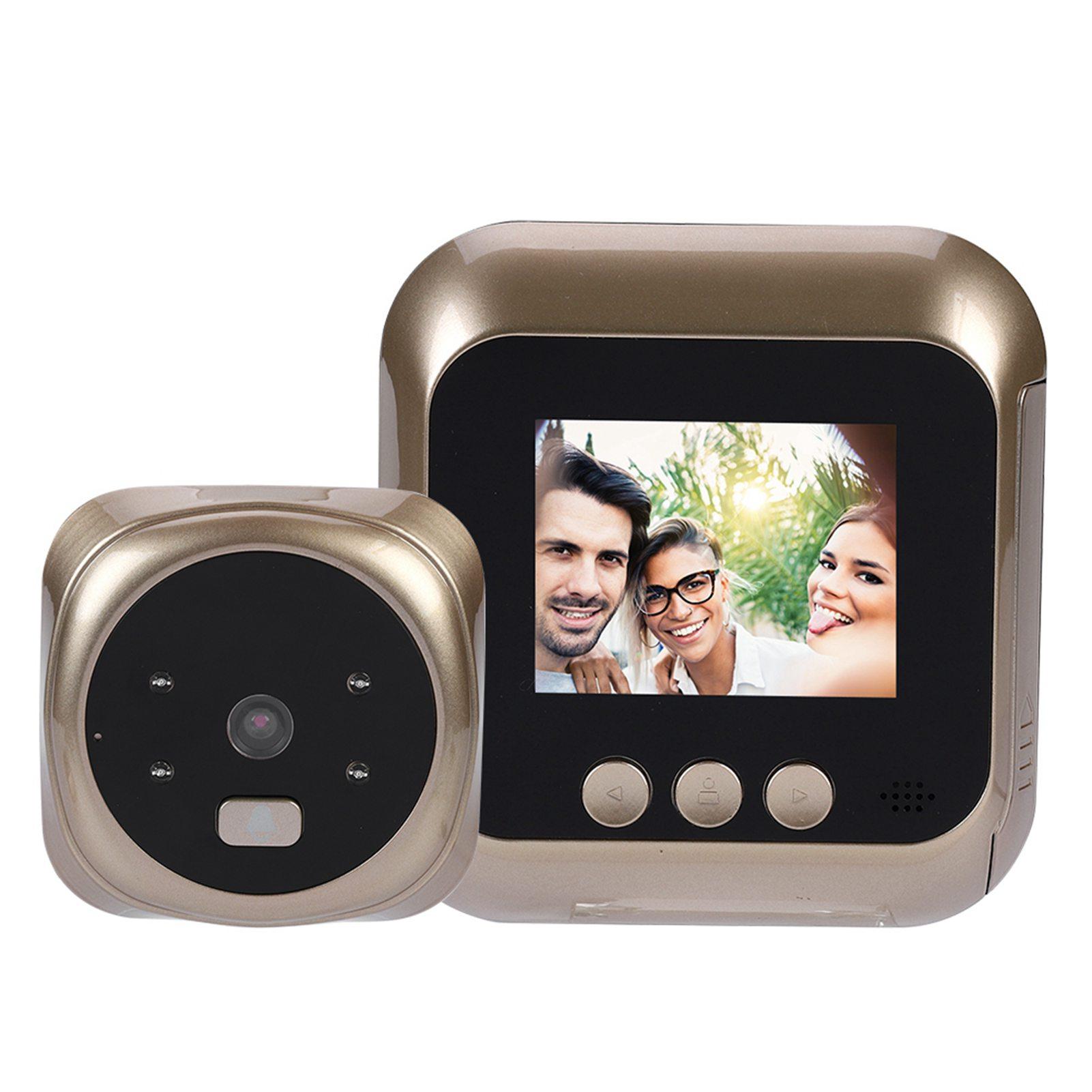 "5/"" Wireless 720P DoorBell Camera Smart Video Phone Door Intercom IR Night Vision"