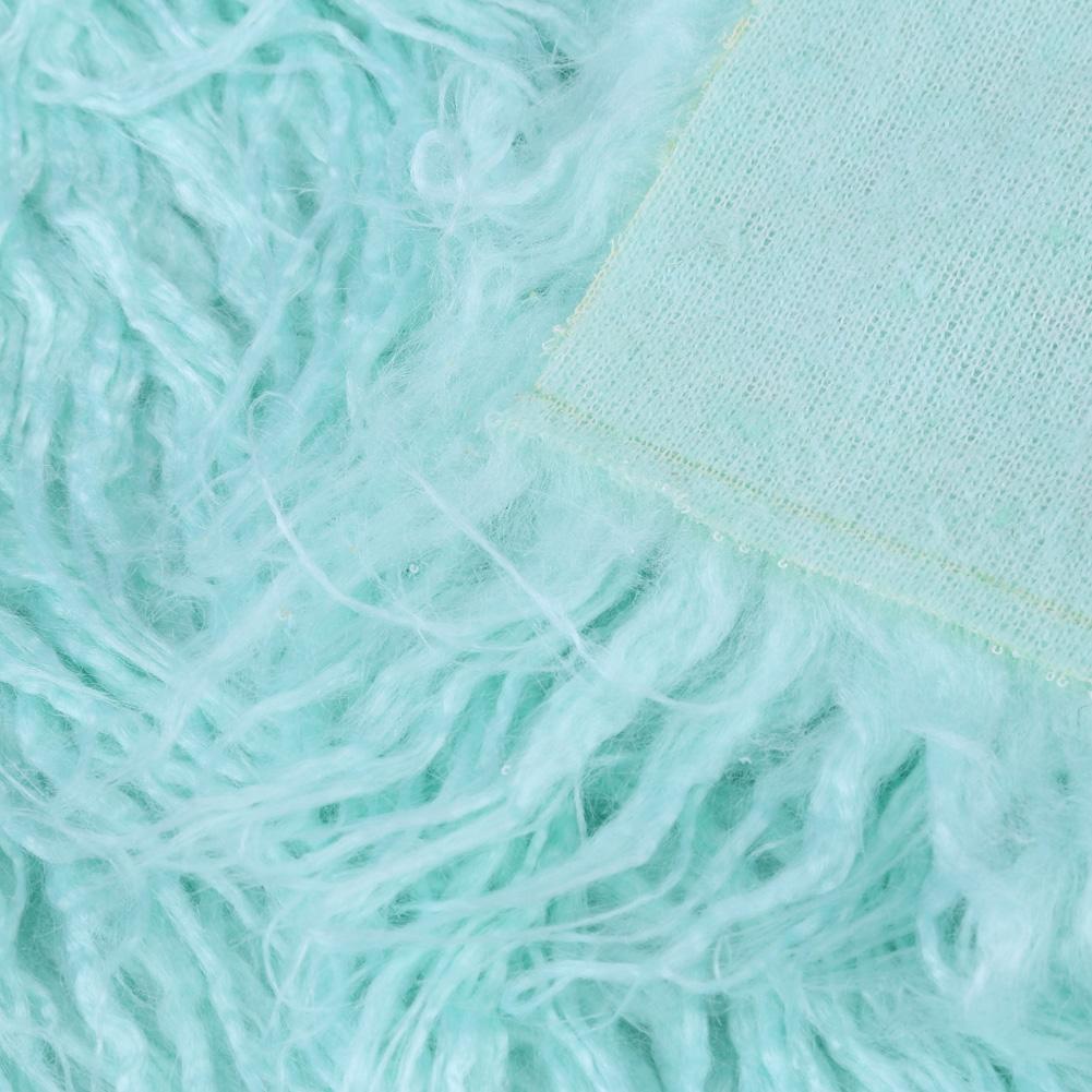 80x50cm Faux Fur Newborn Infant Photography Prop Baby Blankets Basket Stuffer