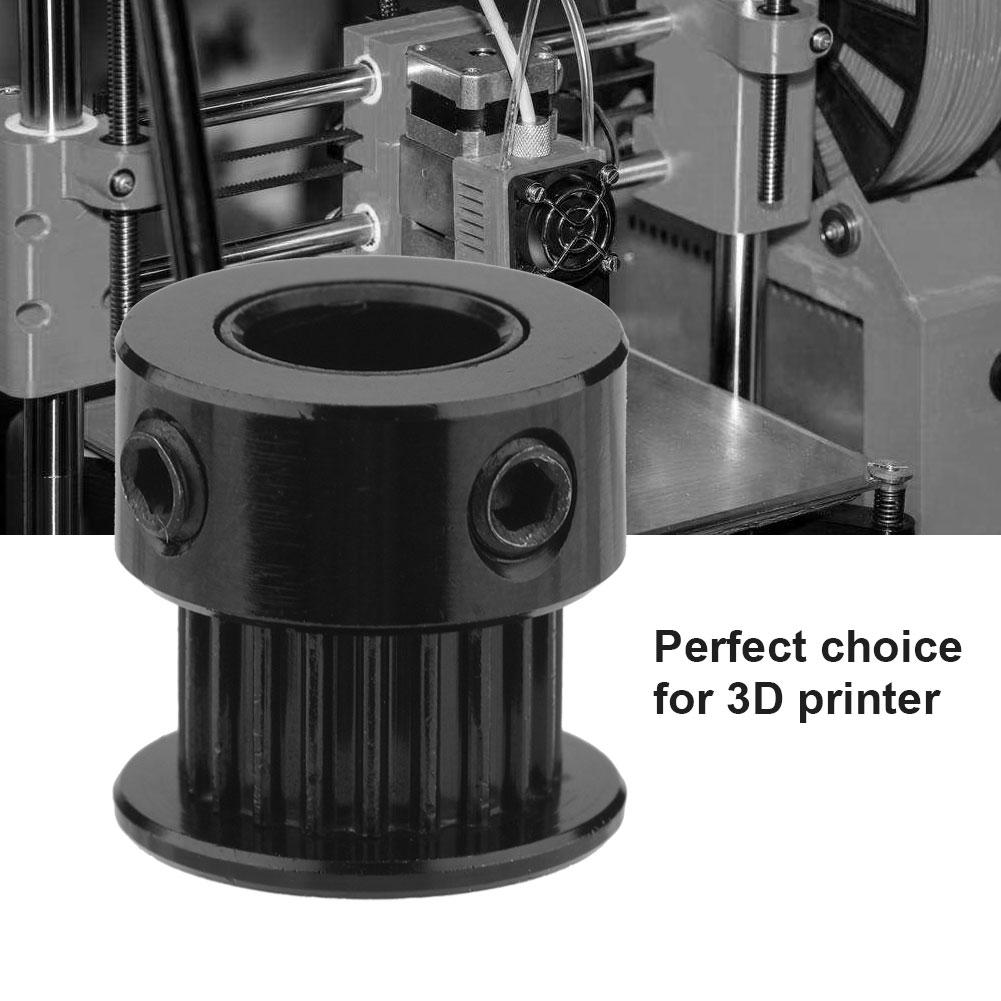 5pcs 5//8mm Bore Aluminum Timing Belt Pulley GT2 20T 6mm Width For 3D Printer