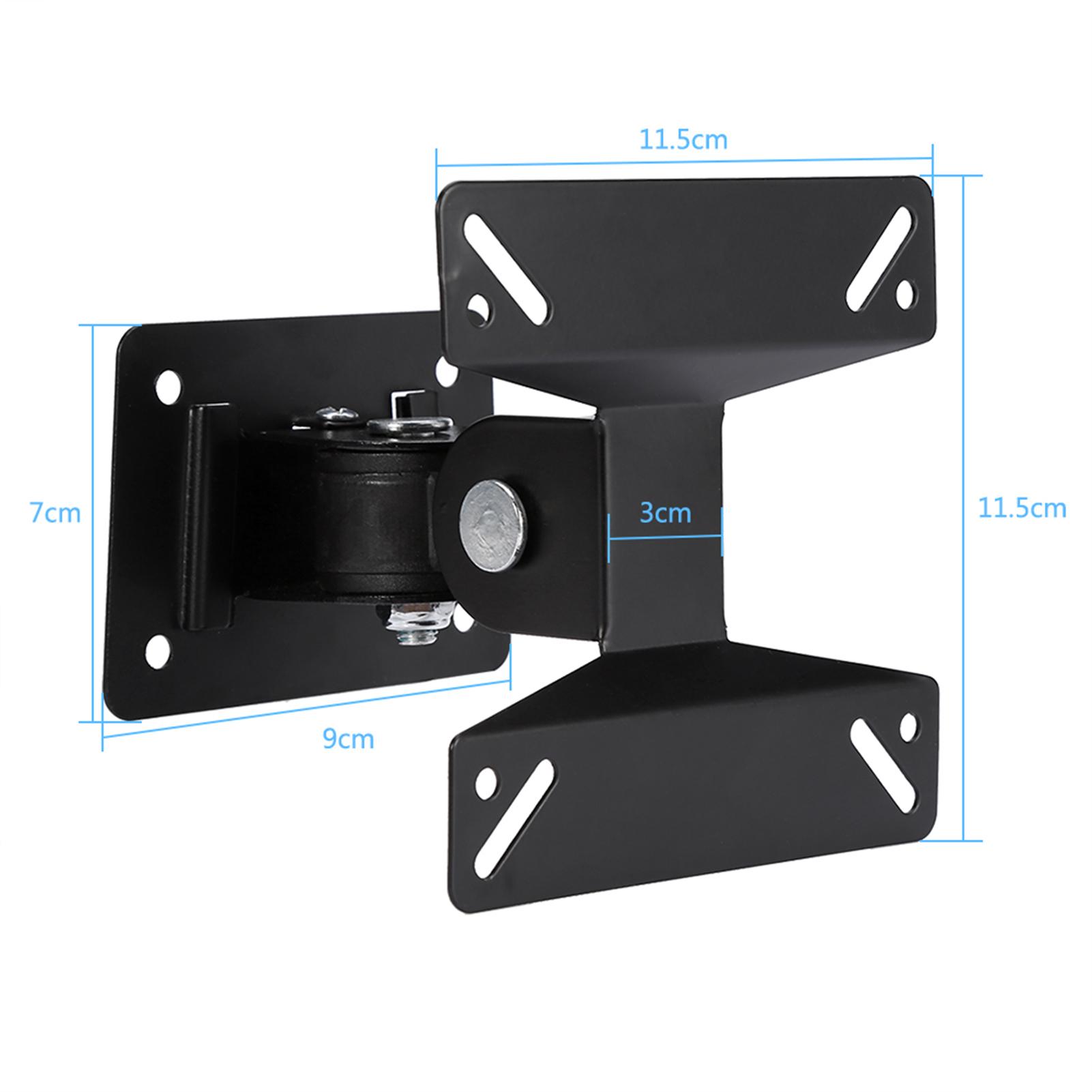 TV Bracket for Flat LED LCD Screen TV Desk Wall Mount Floor Stand Universal