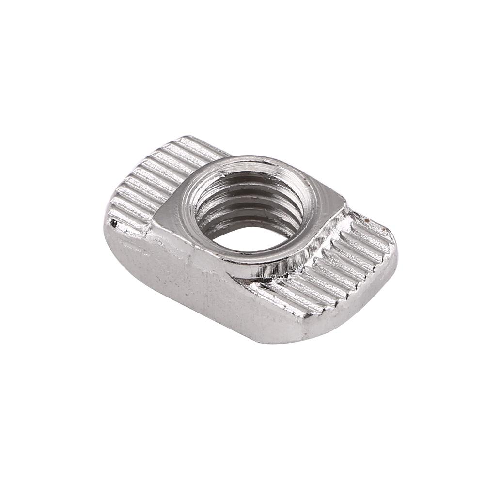 50x M4//M5//M6 Hammer Kopfmutter Nutmutter Gleitmutter für EU T-Nut Aluprofile s0e