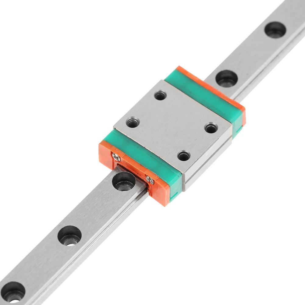 LWL7B 200//300//500mm Miniatur Linearführung Rail Guide Block für CNC 3D Drucker