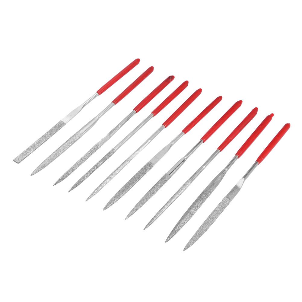 10pcs Ensemble de fichiers d/'aiguille de diamant Pour Outil à main professionnel