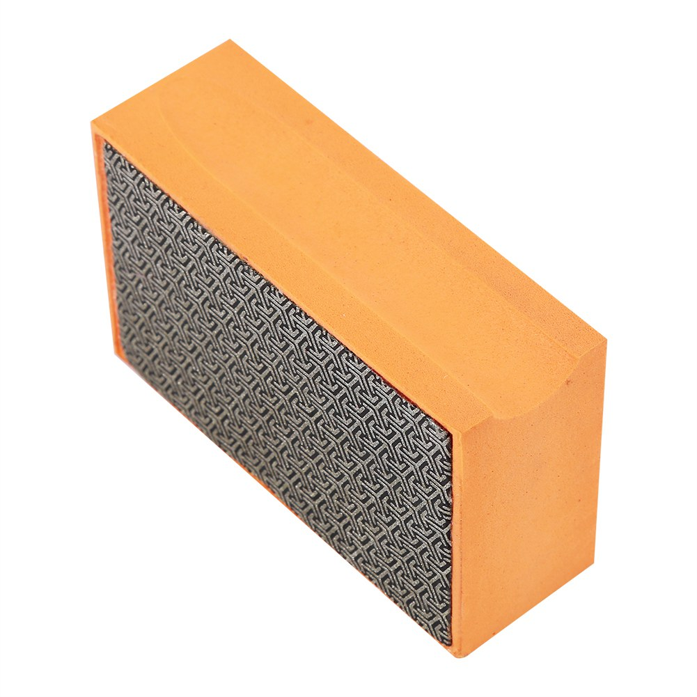 60-400# Grit Diamond Hand Sanding Polishing Pads for Stone Marble Glass Granite