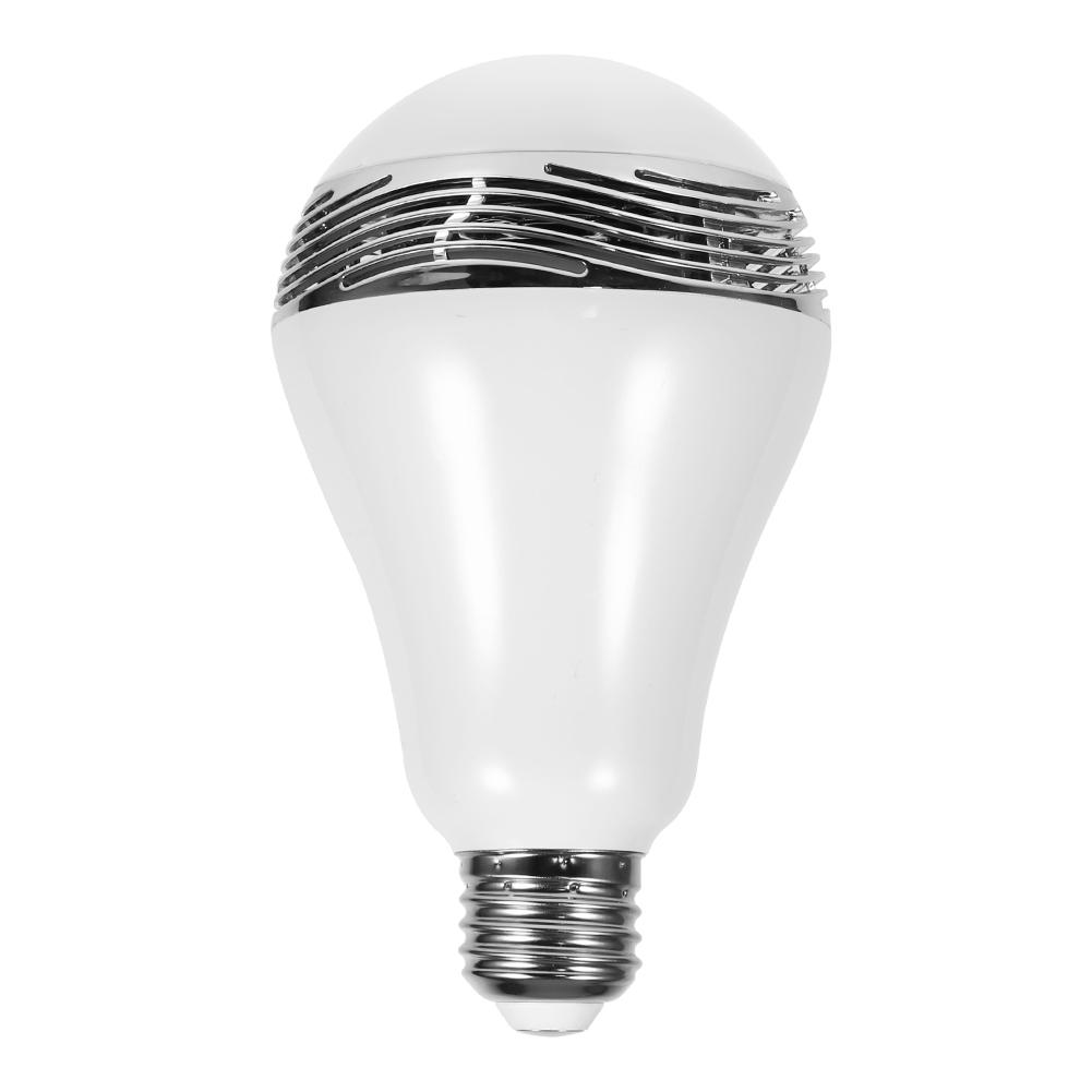 LED Wireless Bluetooth Bulb Light Speaker E27 RGB Smart Music Play Lamp Remote