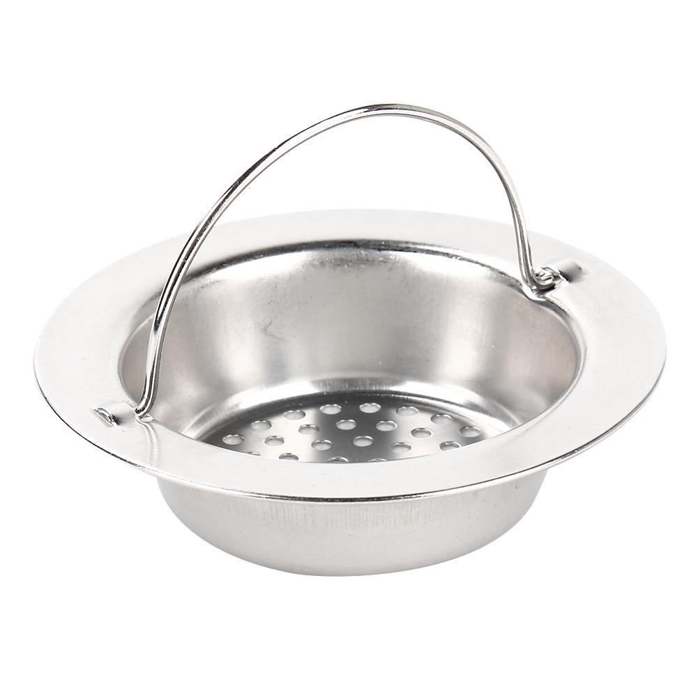 9cm 11cm Stainless Steel Kitchen Sink Basin Waste Plug Strainer Drainer