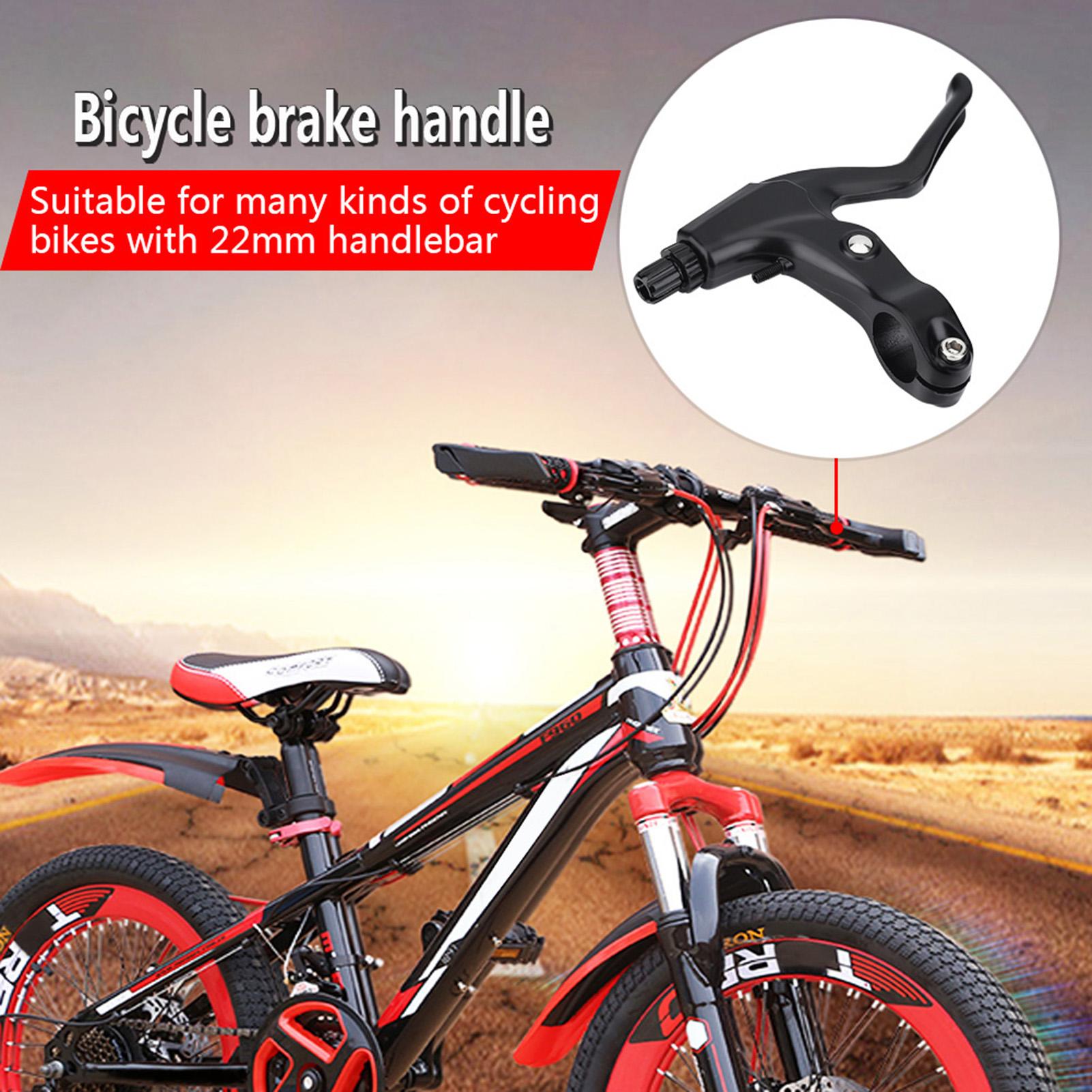 1Pair Aluminum Road Mountain Bike Bicycle V Brake Lever Levers 22//22.2//24mm GL