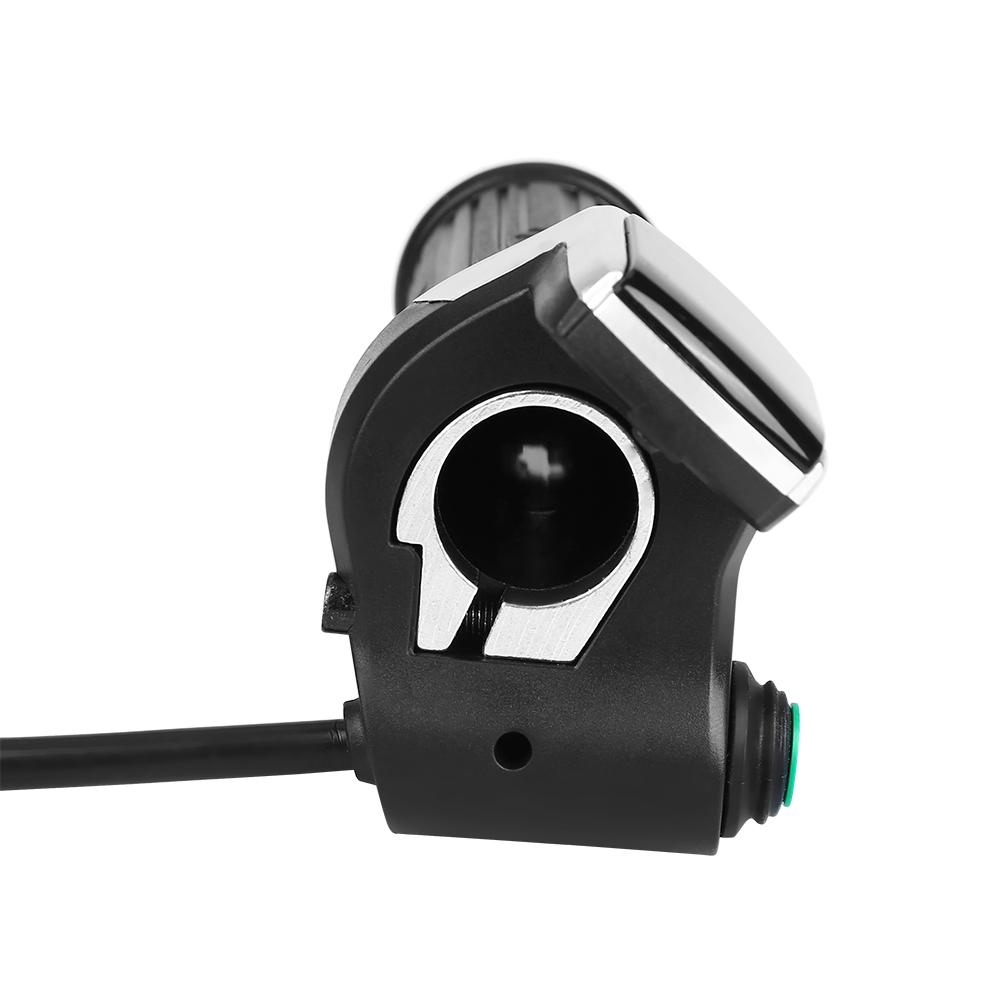 LCD Display Daumengasgriff Lenkergriff Zubehör für elektrische Fahrrad Rolle