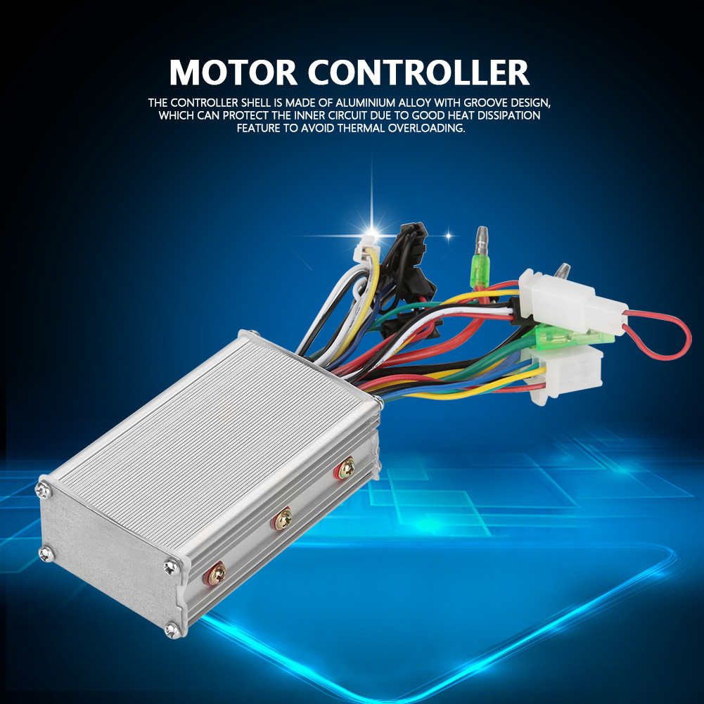 24V-60V Electric Bicycle E-bike Scooter Brushless Motor Speed Controller Tool LJ