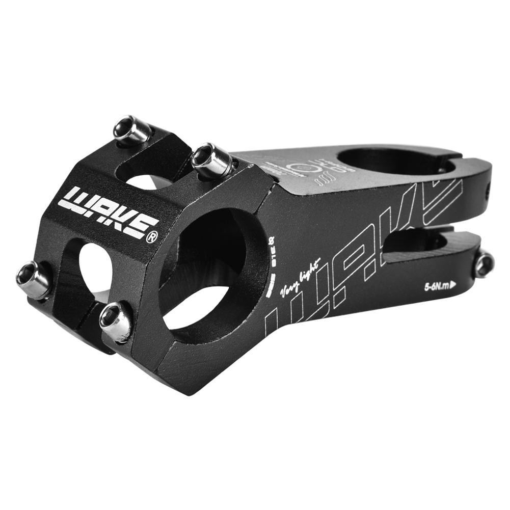Cycling Bicycle Aluminum Alloy Road Mountain Bike Handlebar Stem 31.8mm Black AM