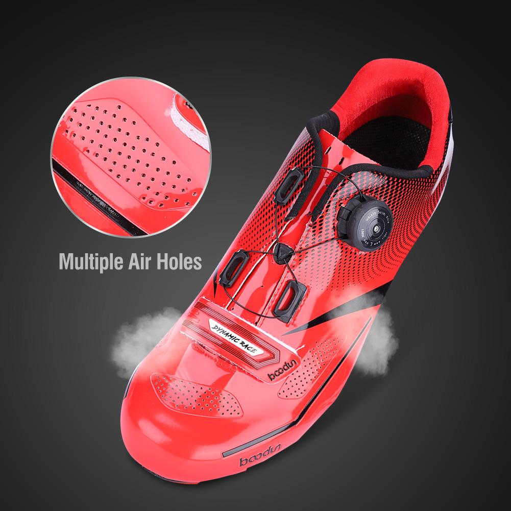 BOODUN Mountain//Road Bike Cycling Anti-Skid Racing Breathable Sports Shoes 1Pair
