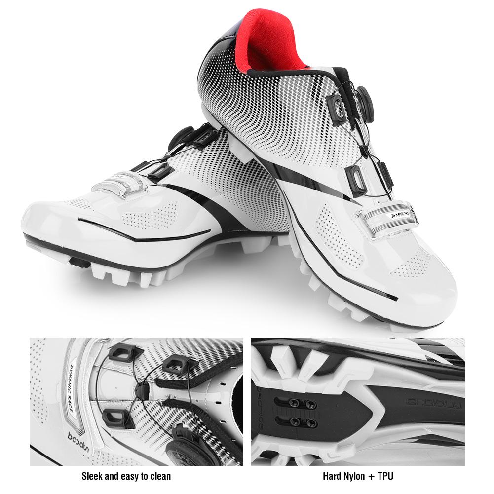 BOODUN Mountain//Road Bike Anti-Skid SPD System Lock Cycling Shoes Lightweight AF