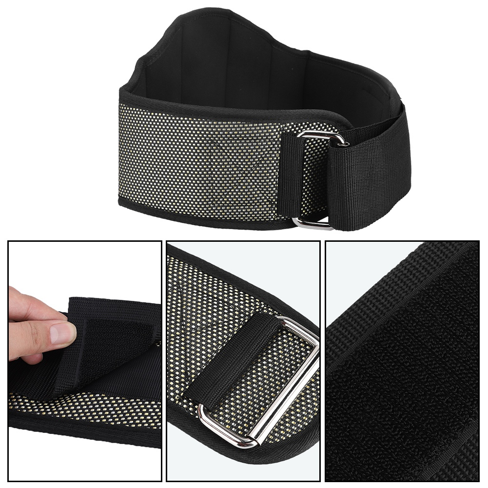 Gym Weight Lifting Belt  Squat Power Training Fitness Back Support NEW