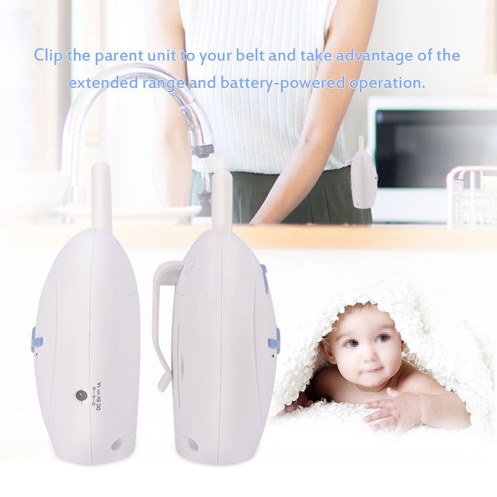 Audio Baby Monitor Voice Safety Two Way Talk Radio Night Baby Crying Monitor
