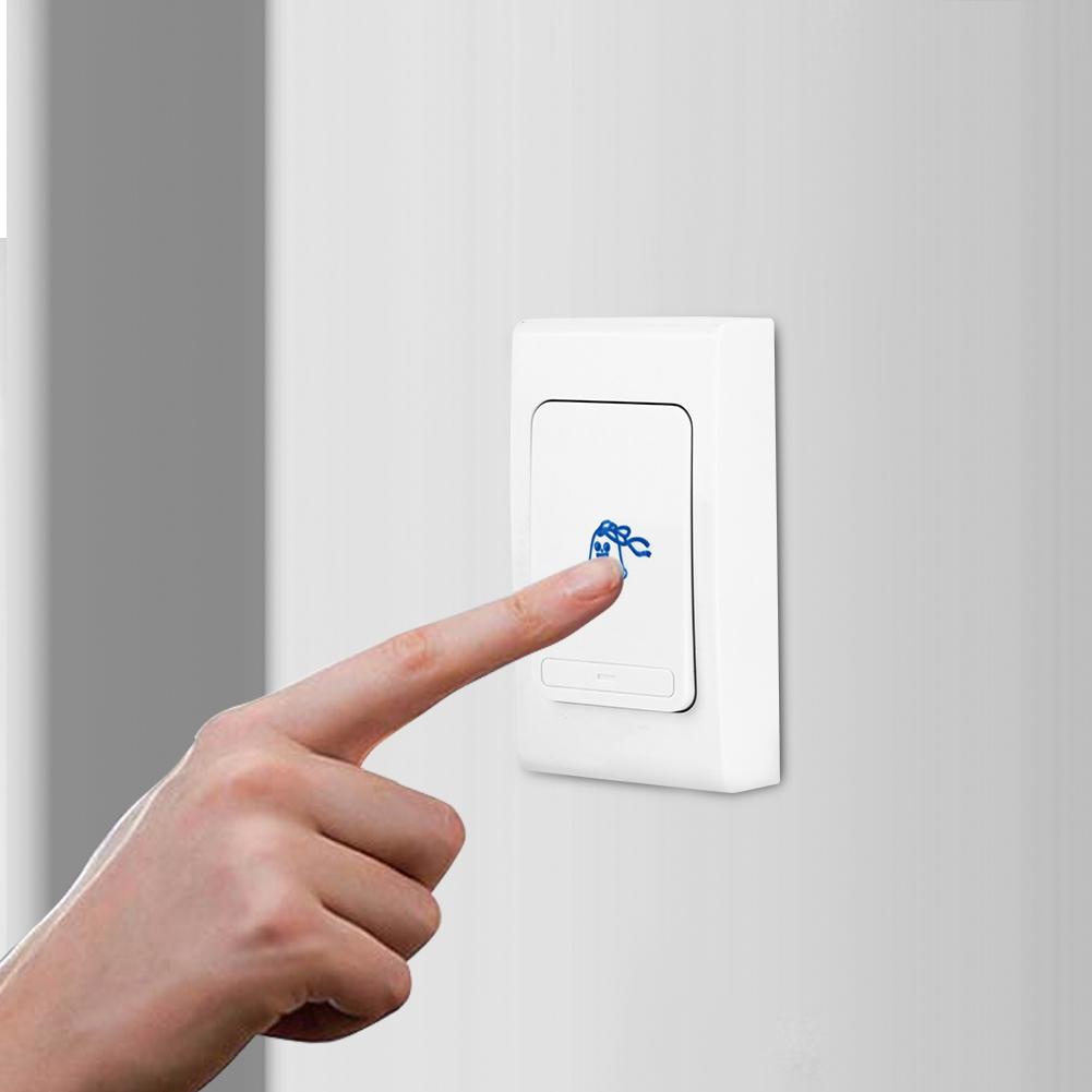 Wireless Receiver Remote Control Doorbell 300M Waterproof 28 Ringtones Door Bell
