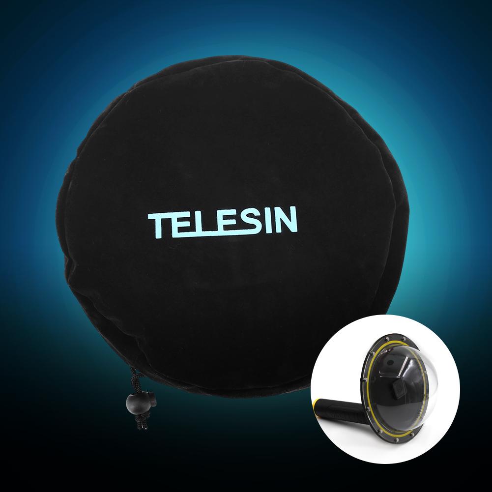 Telesin Dome Port Diving Lens Cover Waterproof Housing Cover for Gopro Hero 4//5