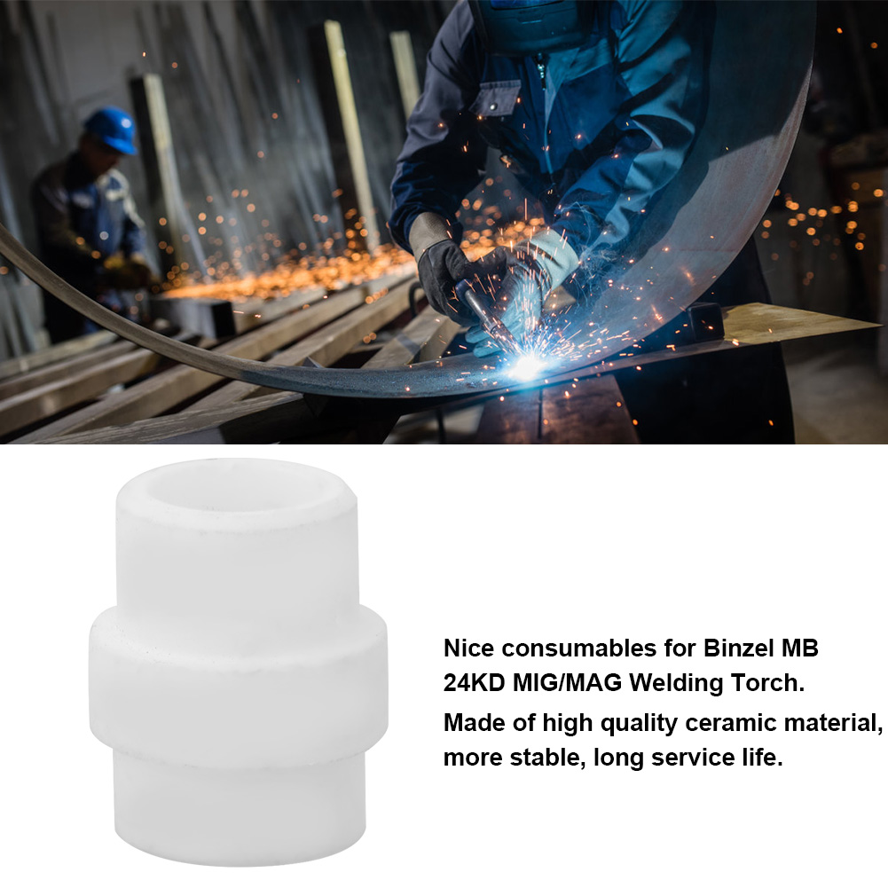 20pcs MIG Gas Diffuser for Binzel 24KD MIG MAG Welding Torch Consumables Durable