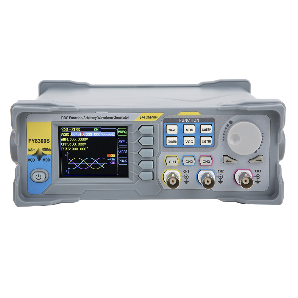 2.4 inches 3-Channel DDS Arbitrary Waveform Function Signal Generator 60MHz