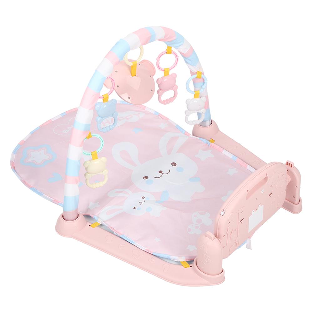 Baby Spielmatte Krabbeldecke Spielmöglichkeiten Spieldecke Fuß Musik Klavier