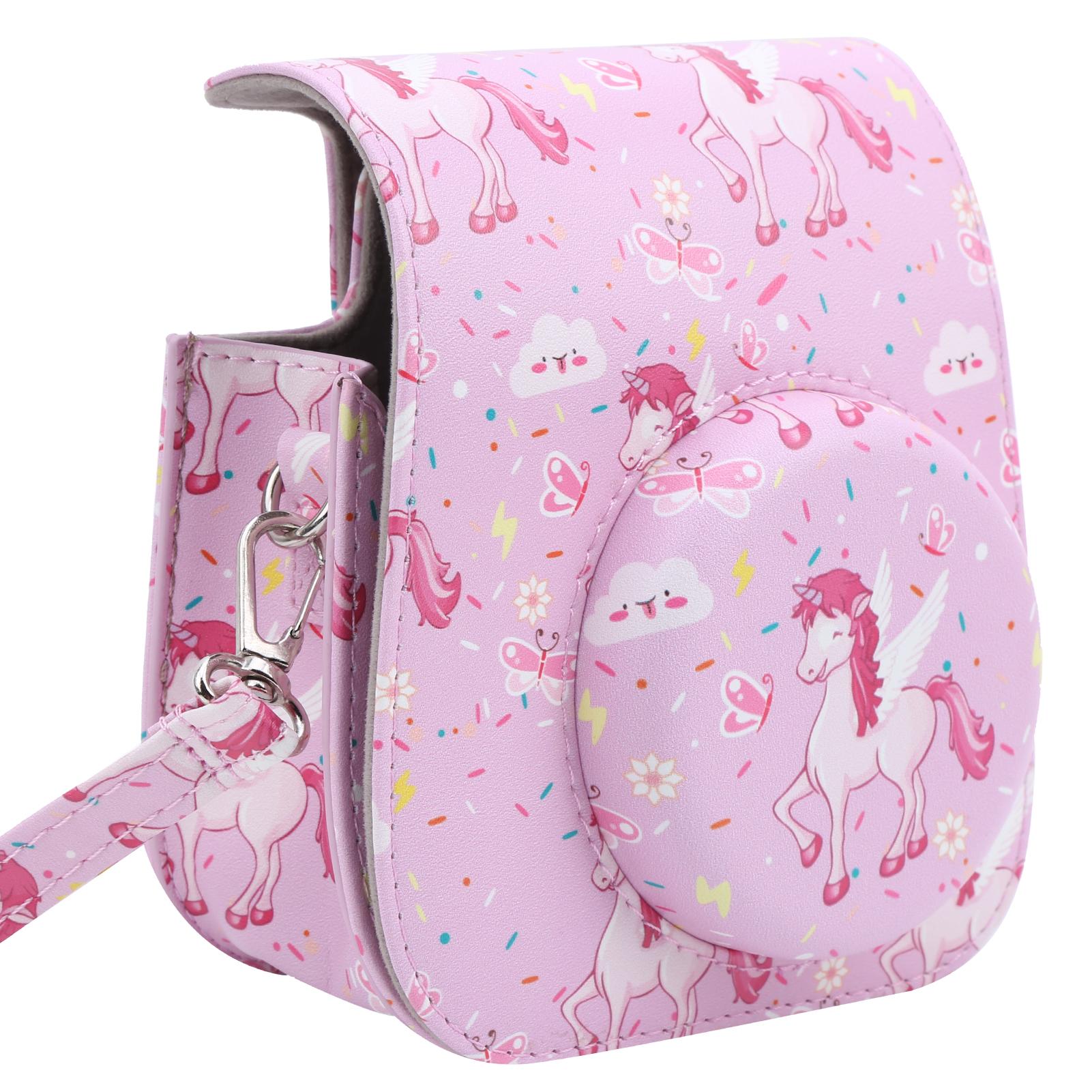 Mini Camera Storage Case Sling Strap Bag for Fujifilm Instax Mini 11//9//8 Beauty