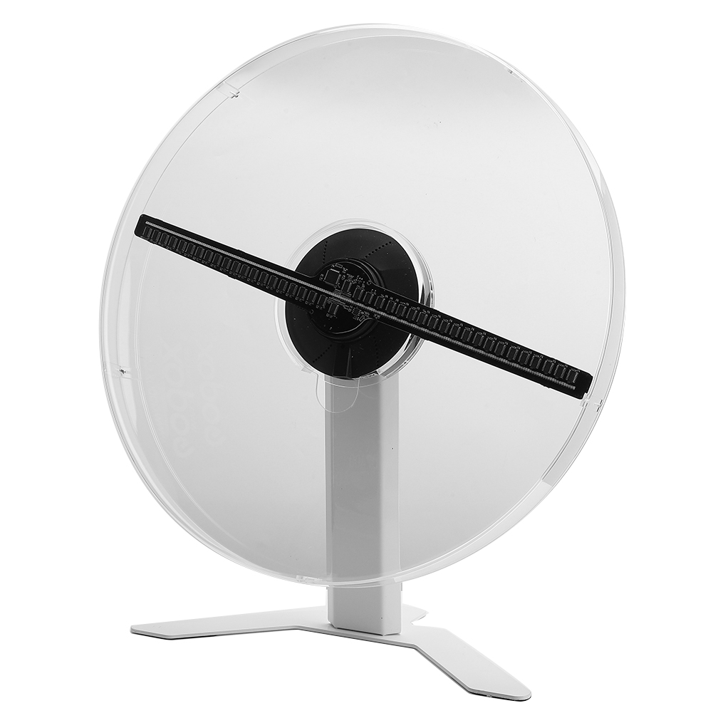 Details about  /3D Ultra-Thin 384 LED WiFi Holographic Projector Display Fan Hologram Projection