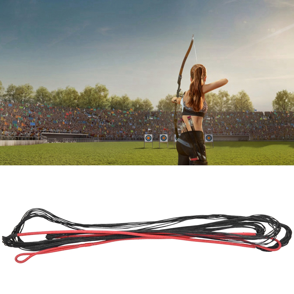 Nylon rope replacement arc curved arc pr high strength shooting accessory