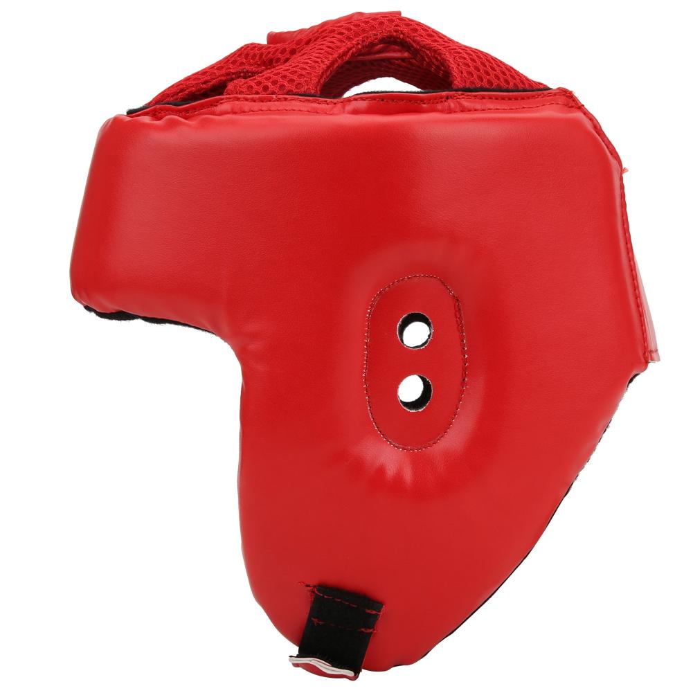 Professional Taekwondo Helmet Karate Headgear Kick Boxing Head Protector 3 Color