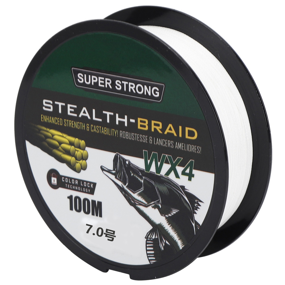 100M PE Lure Bait Fishing Line Tackle Anti-Bite Strong Tension Tackle Kit