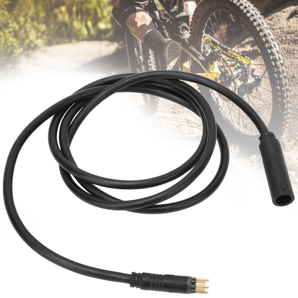 Electric Bike Motor Extension Cable Wire Plug Connector 9Pin For EBike Mid Drive