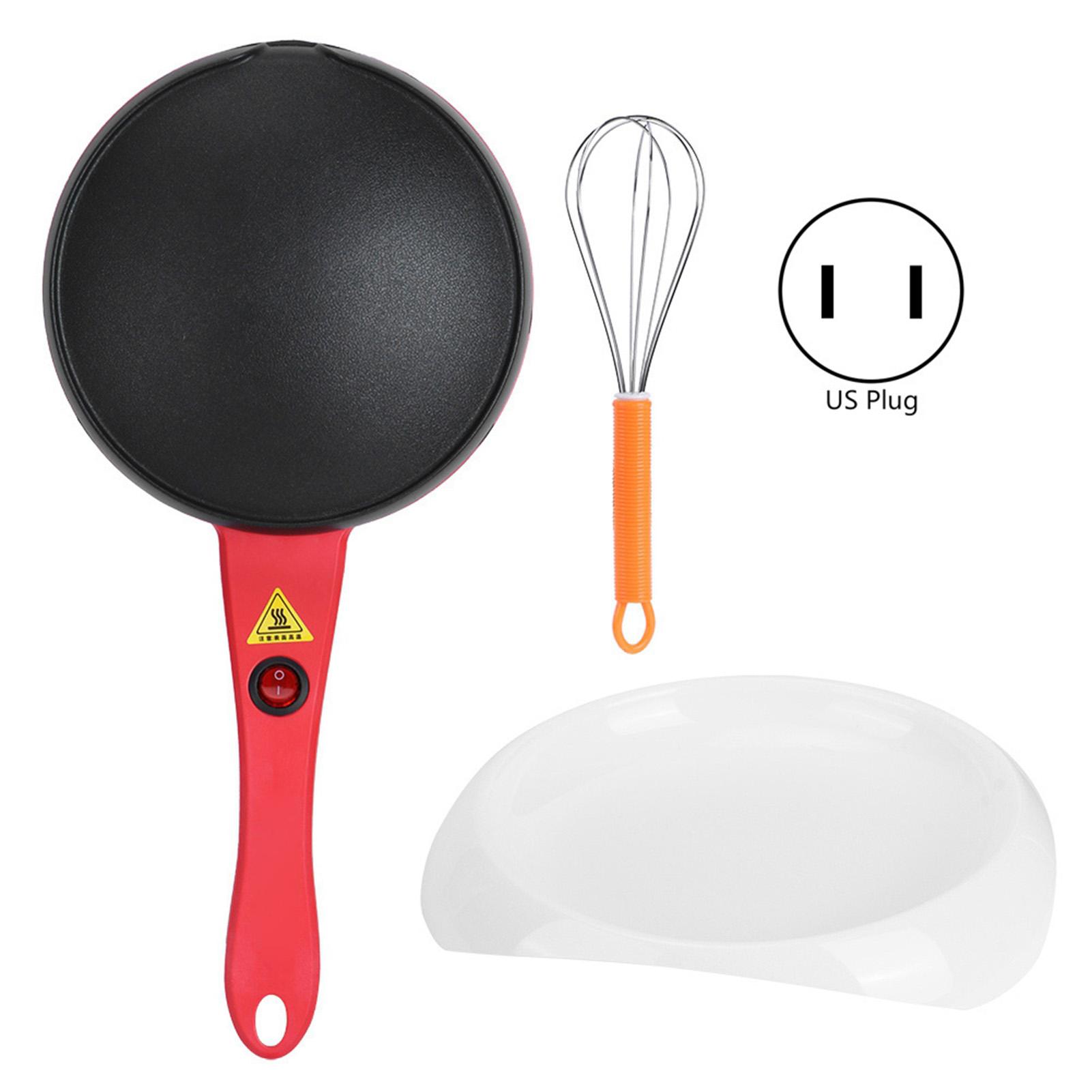 Electric Crepe Maker Non Stick Pancake Baking Pan Frying Griddle Machine Kitchen