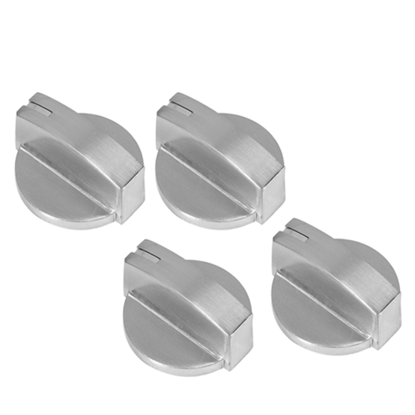 Details about  /4Pcs Universal Zinc Alloy Gas Stove Control Knob Rotating Switch Part New