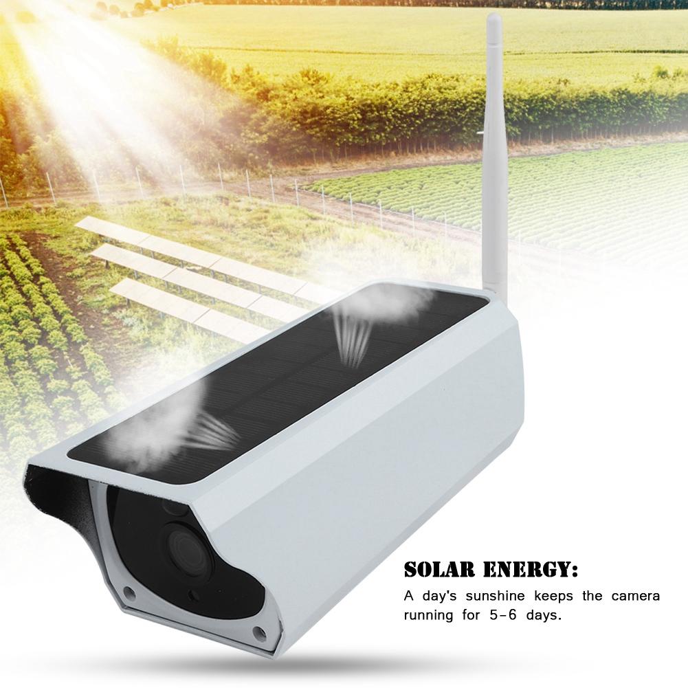 Wireless 1080P Solar Security IP Camera Wifi Surveillance Webcam IR Night Vision