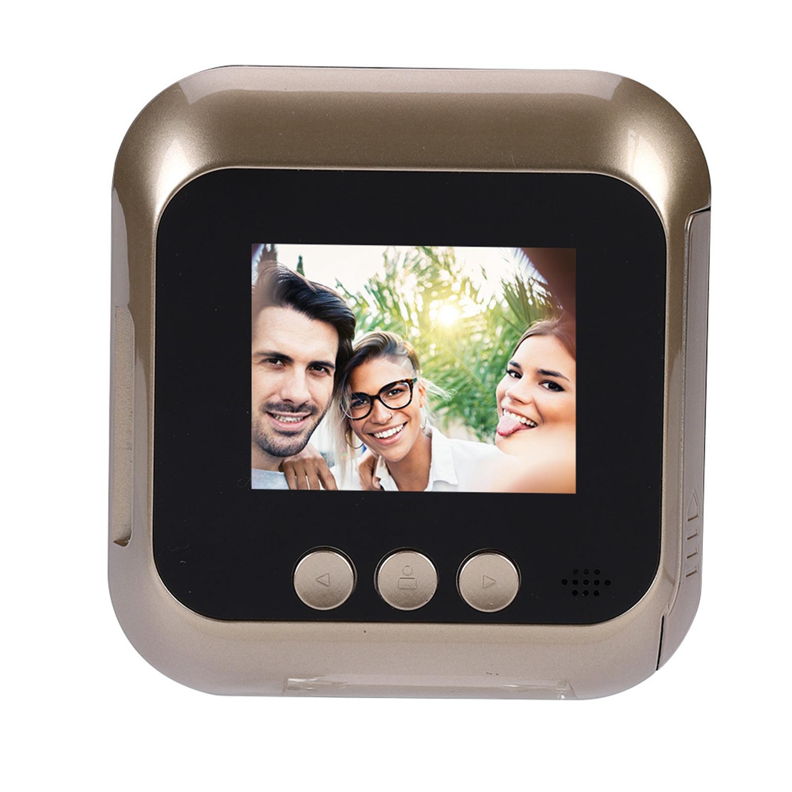 """2.4/""""// 2.8/"""" LCD Digital Peephole Viewer Door Eye Doorbell Camera Home Door Bell"""
