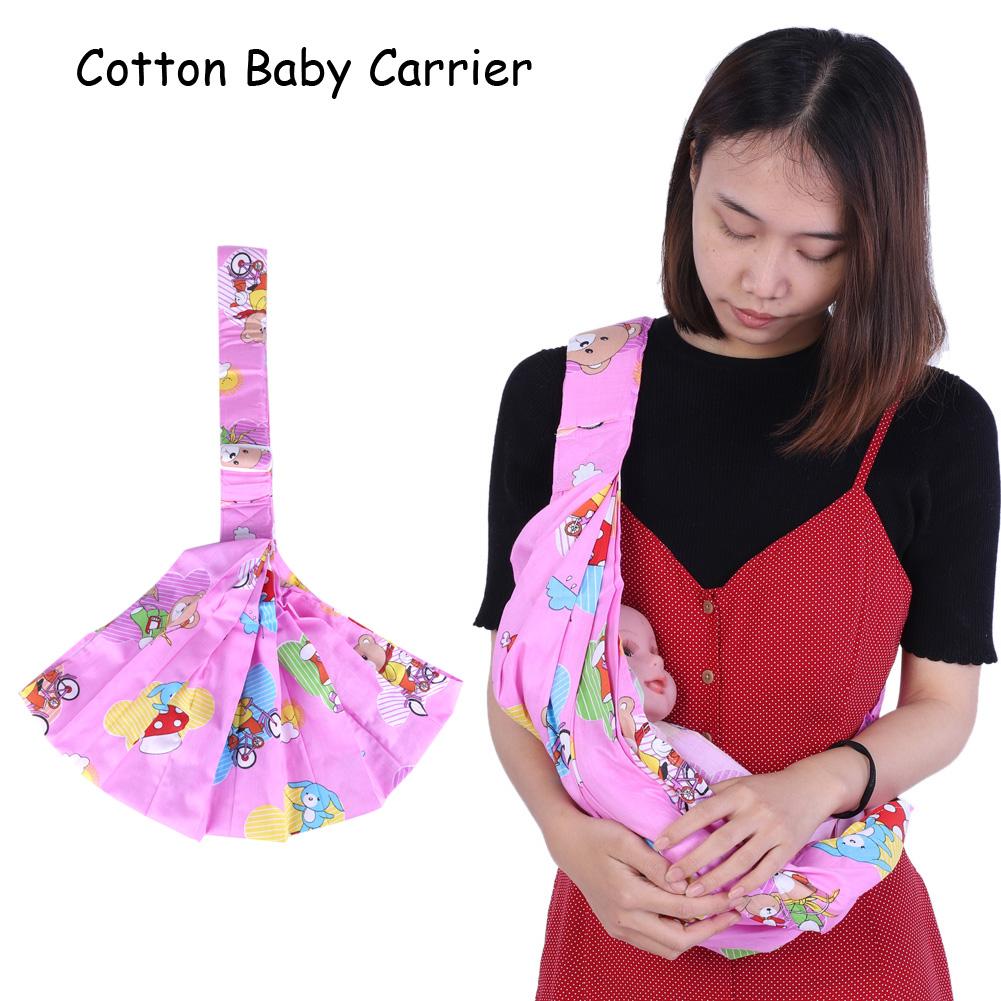 Ergonomic Cotton Infant Newborn Baby Carrier Sling Wrap Backpack Front Back Cool