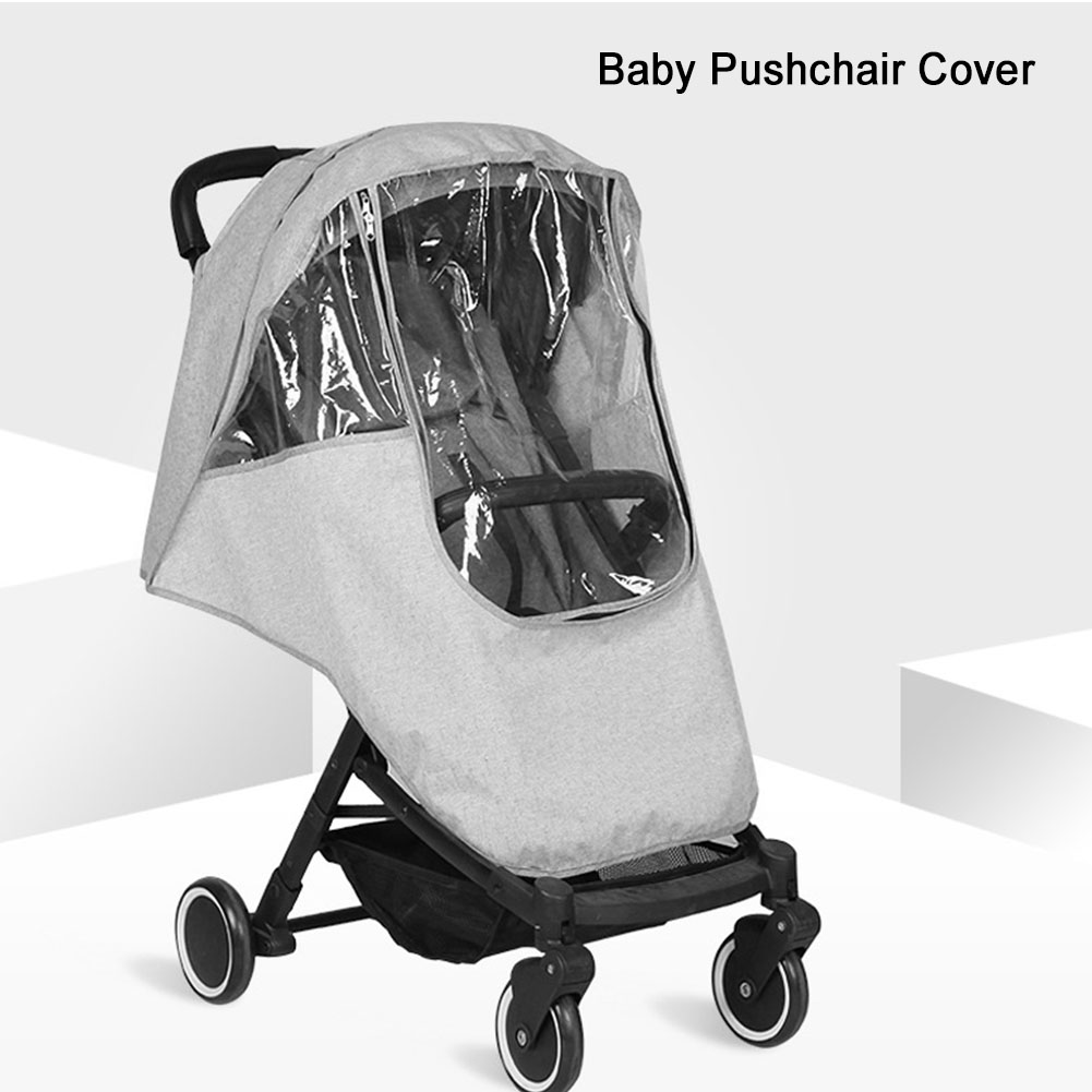 Universal Clear Baby Pushchair Pram Stroller Buggy Raincover Rain PVC Cover lot