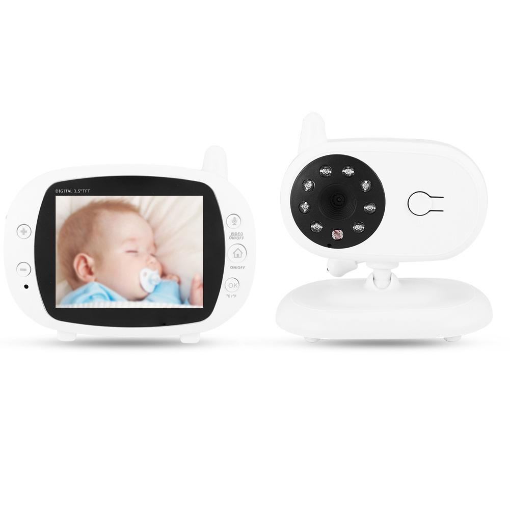 Digital Baby Heart Monitor Night Sleep Safety Vision LCD Display Video 200 Meter