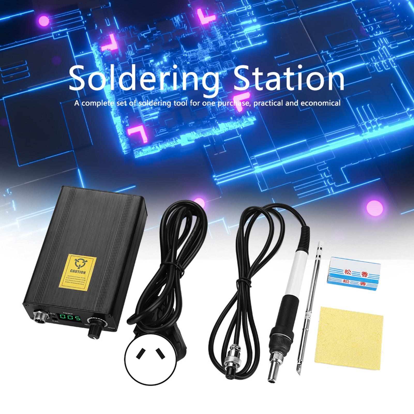 T-12D Digital Soldering Station Kit 70W Temperature Controller Range 180-450℃