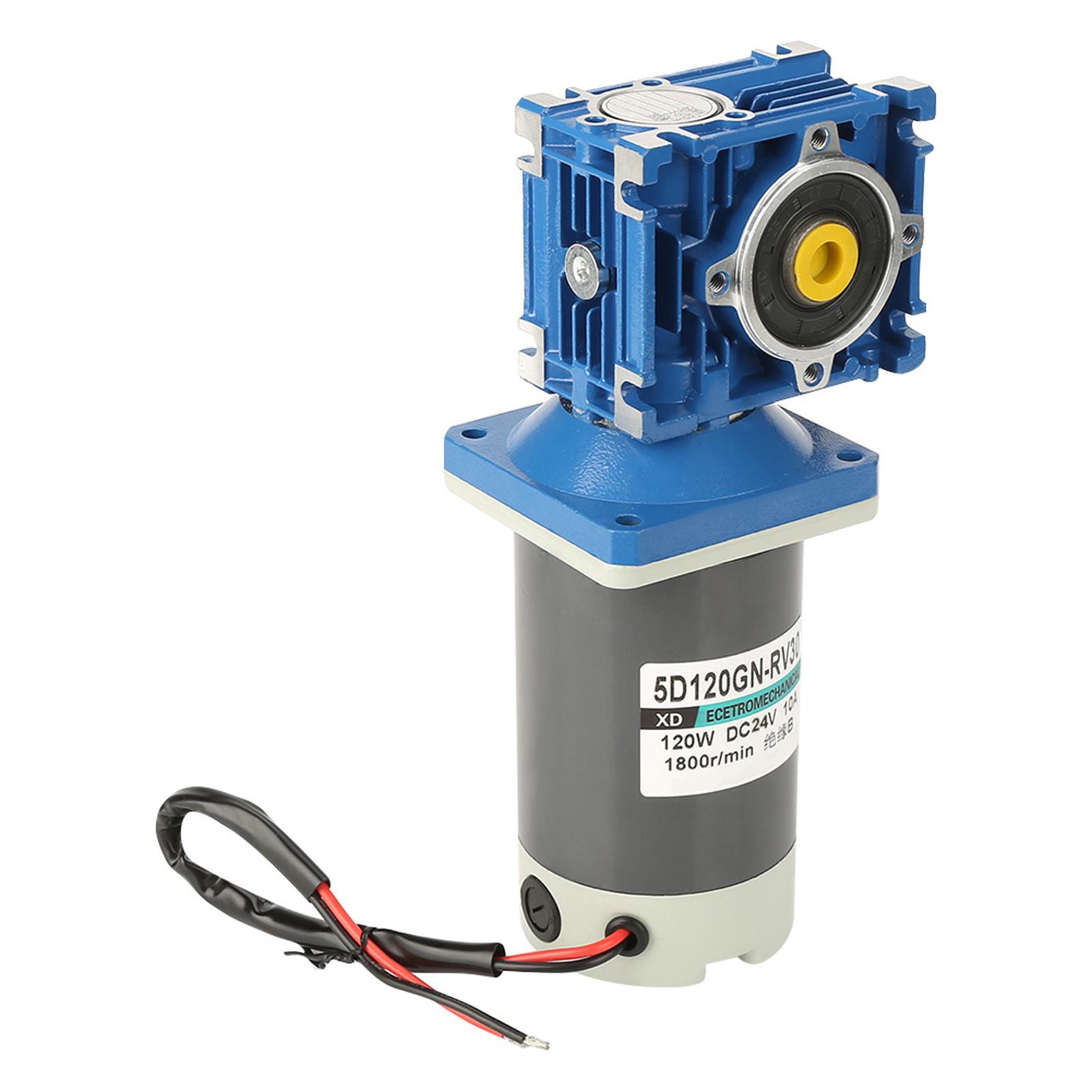 Regelbar Getriebemotor Turbine Gleichstrommtor Langsamläufer 24VDC 120W 1800rpm