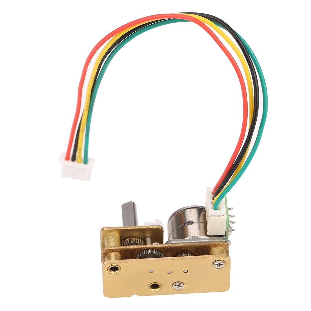 2-Phasen 4-Draht für DIY DC5V GM1024BY10 Mini Getriebemotor Stepping Gear motor