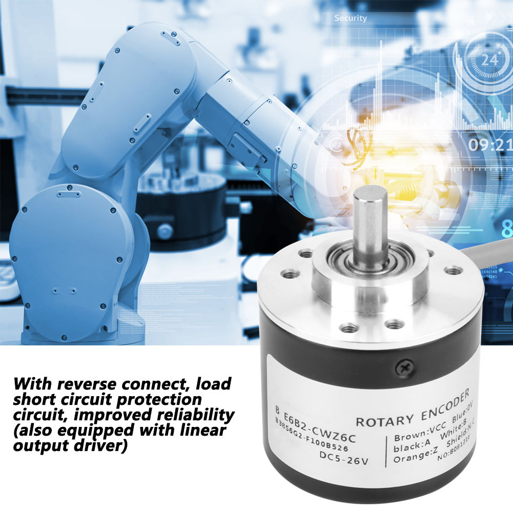 E6B2-CWZ6C Incremental Rotary General-purpose Encoder with Diameter of 40mm HG