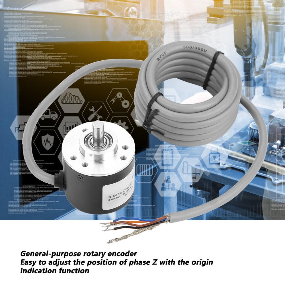 E6B2-CWZ6C Inkrementaler Drehgeber Universal Geber Encoder Inkrementalgeber