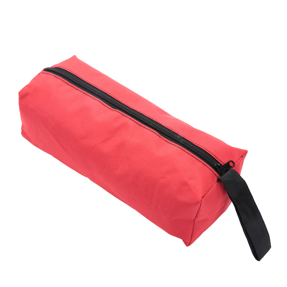 Multfunction Tool Bag Practical Carrying Handle Polyester Canvas Instrument Case