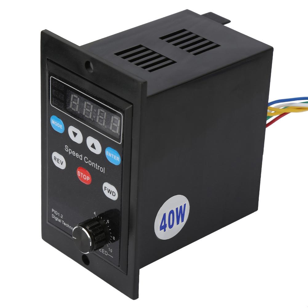 220V motor Digital Inteligente Control De Velocidad Controlador de Velocidad de Motor Monofásico