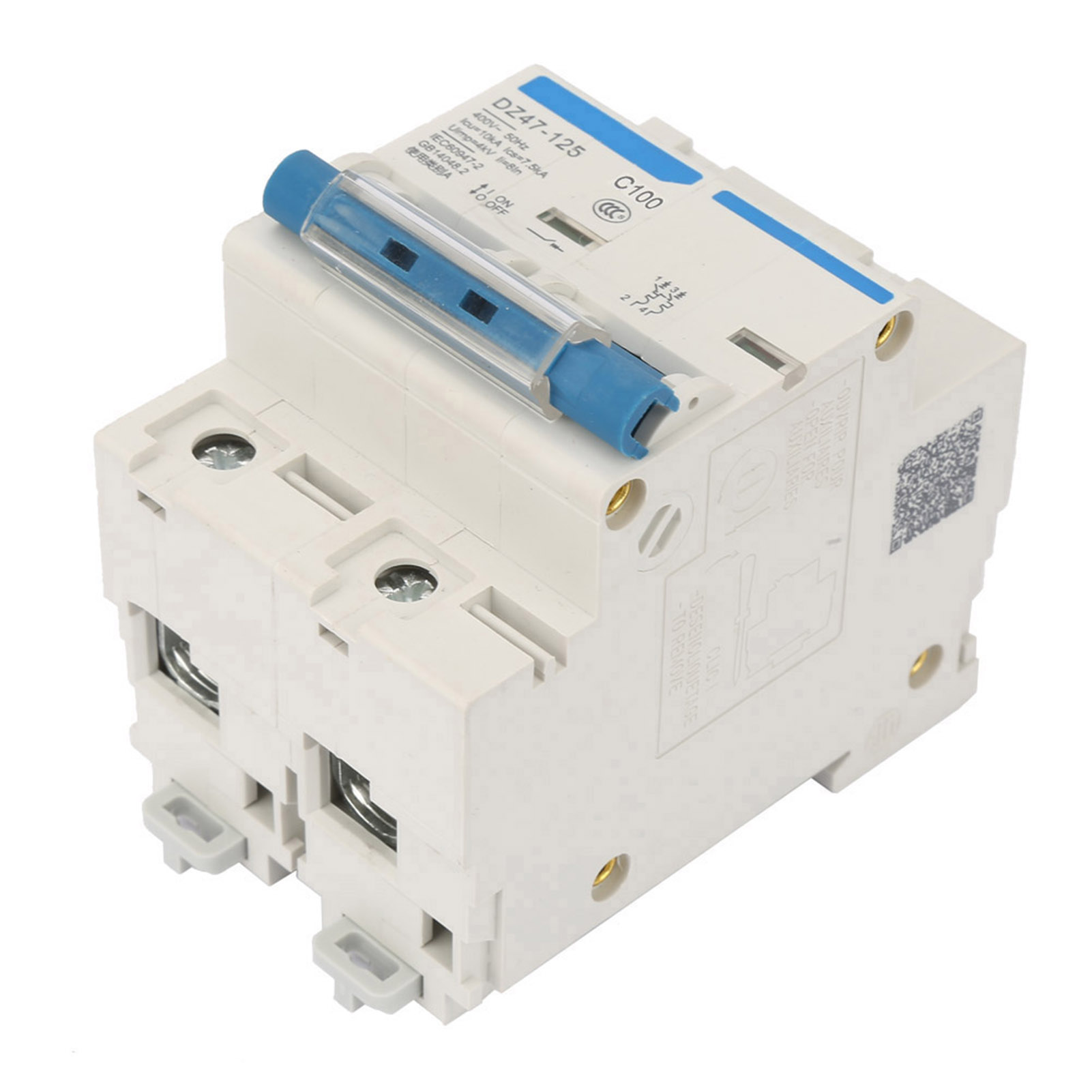 HighQ 400V 80//100//125A Leakage Protection Switch  DZ47-125 2P Current Miniature